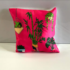 Neon Pink Cushion Cover